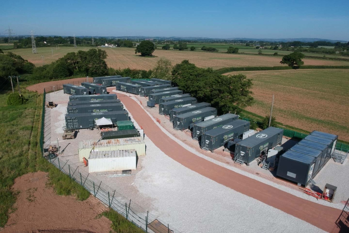 Taunton Battery Energy Storage System