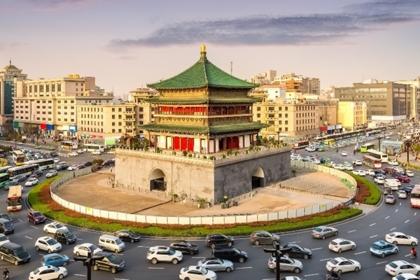 China's ancient city of Xi'an implements intelligent traffic management