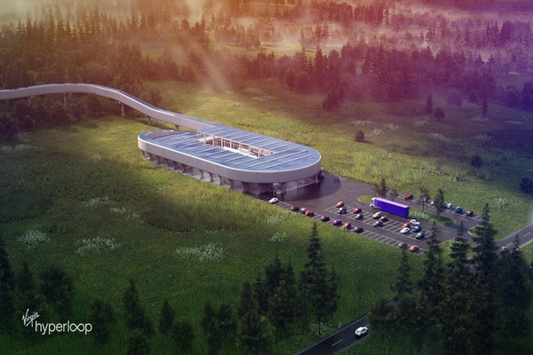 Virgin Hyperloop picks West Virginia for futuristic transport test centre