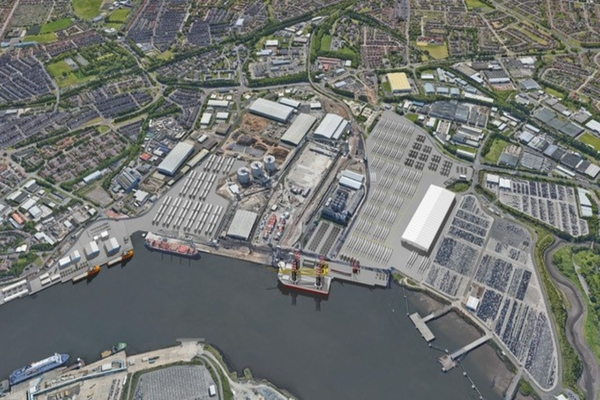 Port of Tyne sets up clean energy park