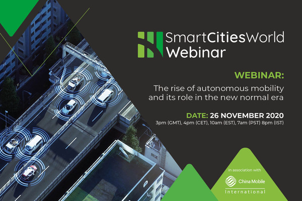 WEBINAR: The rise of autonomous mobility and its role in the new normal era