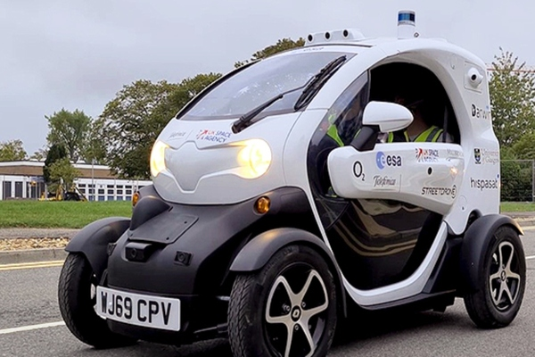 UK launches first commercial driverless testing lab