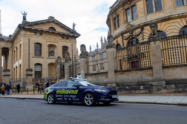First public autonomous car trials begin in Oxford