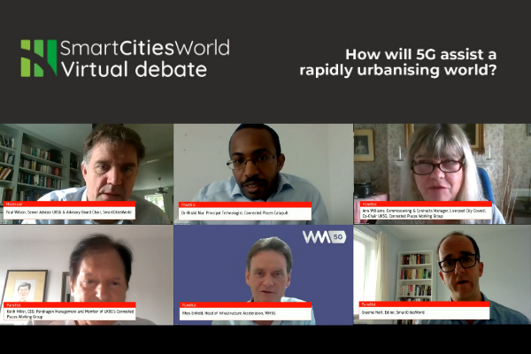 OnDemand VIRTUAL DEBATE: How will 5G assist a rapidly urbanising world?