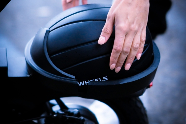 Wheels' recently launched a first-of-its-kind integrated helmet system