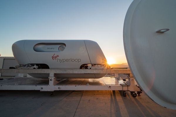 The XP-2 was built to demonstrate that passengers can safely travel in a hyperloop vehicle.
