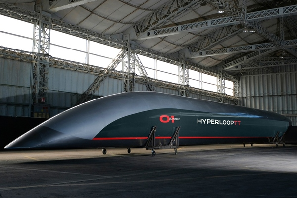 Rail company invests in Hyperloop Transportation Technologies
