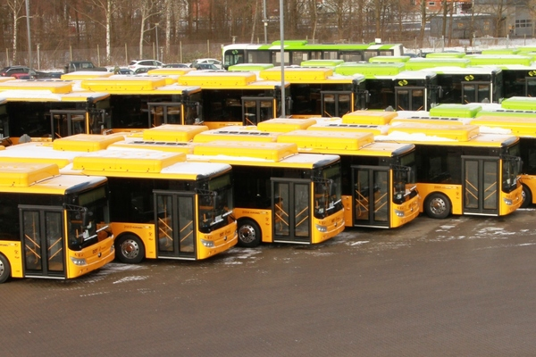 E-buses arrive in Odense and greater Copenhagen