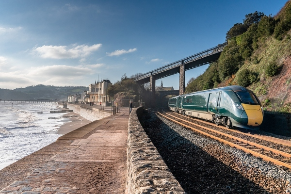 The battery power trains will trial on the Great Western Railway main line