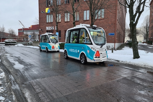 Self-driving shuttle service trial introduced in Gothenberg