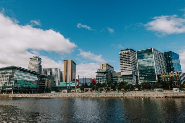 MediaCityUK in Salford is hosting the UK smart city accelerator programme