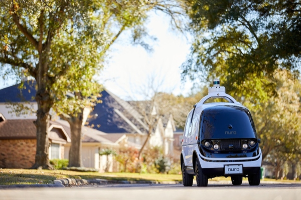Nuro delivery vehicles will be deployed in parts of the Bay Area