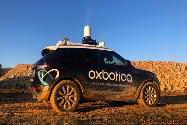 Oxbotica claims its software works with any vehicle, any time, and in any place