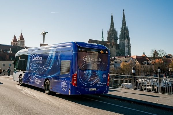 Regensburg progresses electrification of public transport