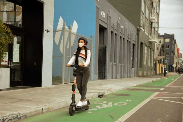 Spin to equip its e-scooters with on-vehicle artificial intelligence