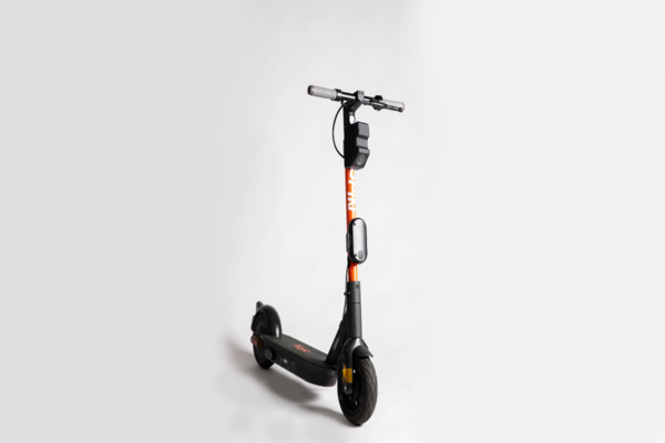 The technology allows an e-scooter to understand its surroundings in real-time