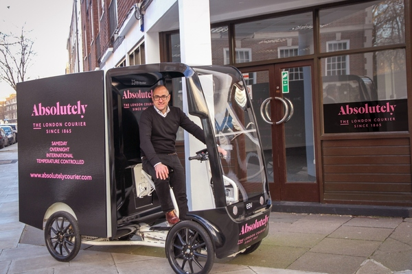 London's oldest courier launches zero emissions depot