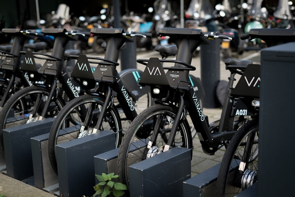 Vaimoo e-bike fleet  to roll out in the UK