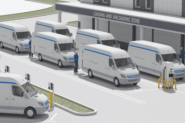 ABB and AWS team to accelerate the electrification of transport fleets