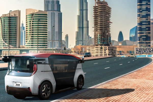 Dubai to launch self-driving electric  taxi and ride-hailing services