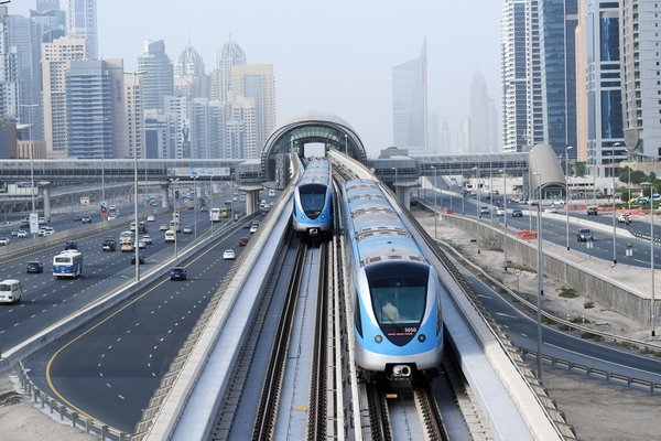 Dubai has the the longest fully driverless and automated metro network in the world