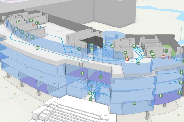 Digital twin floorplans are helping to make buildings smarter for facilities managers