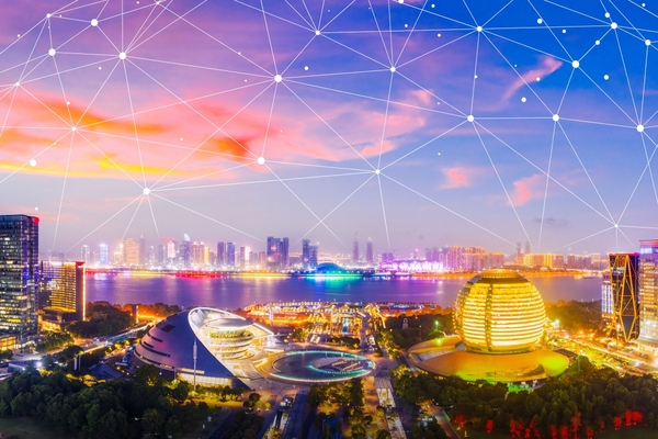 Companies team for smart city blockchain networks connecting LoRa devices