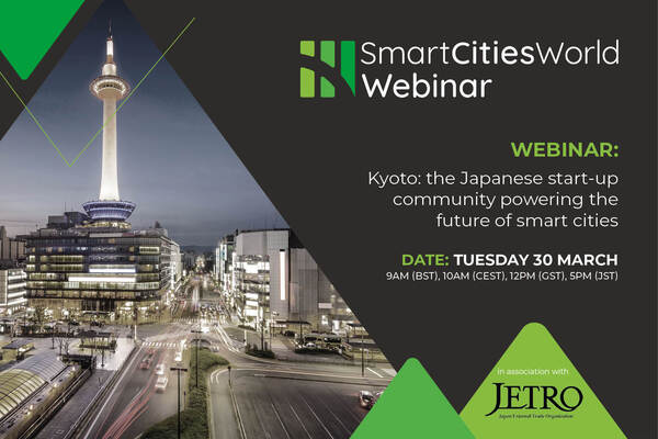 WEBINAR: Kyoto: the Japanese start-up community powering the future of smart cities.