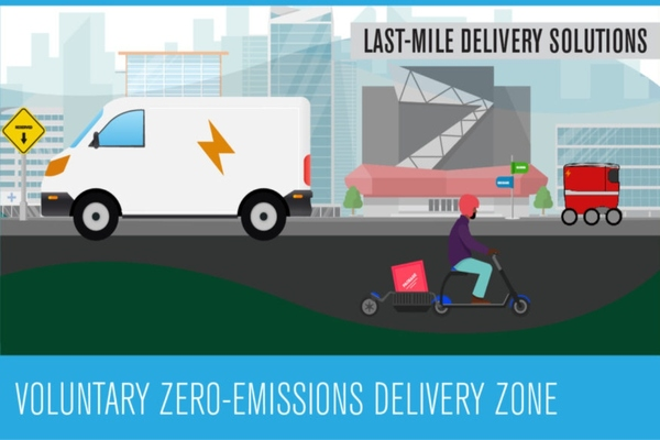 Santa Monica launches zero-emissions delivery zone