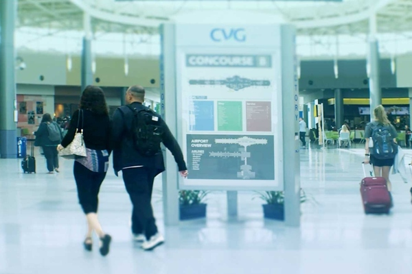 Cincinnati's airport uses data platform to upgrade passenger experience