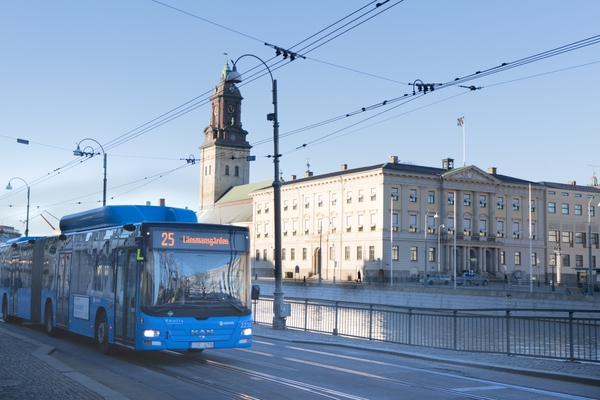 Gothenburg PTA awards 10-year fully electric bus fleet contract