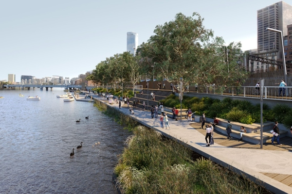 Melbourne reveals plans for transformative Greenline project