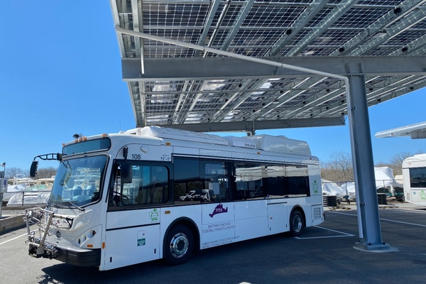 Martha's Vineyard Transit Authority launches microgrid